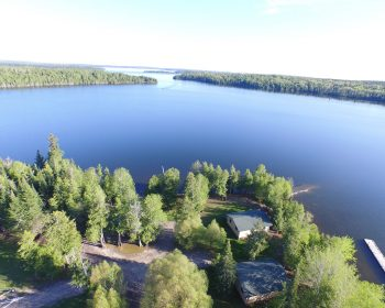 Aerial view of Rainbow Point Lodge