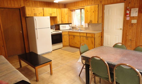 Kitchen in cottage 10