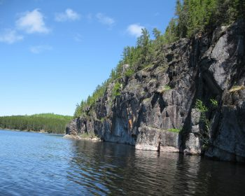 Rugged Cliffs at Lost Lake