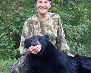 Success for grandma on Bear Hunt