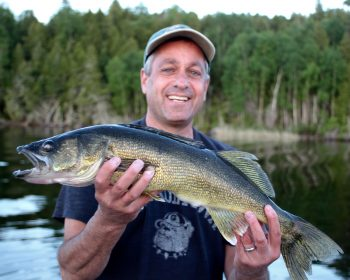 Trophy Walleye to release