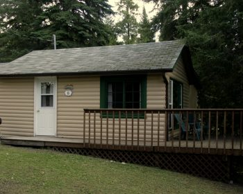 Cottage #6 - exterior with deck