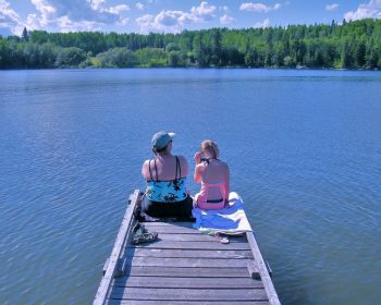 Hanging out on the Dock