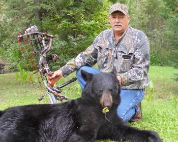 Jim's 1st Canadian Black Bear