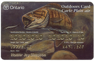 outdoors card